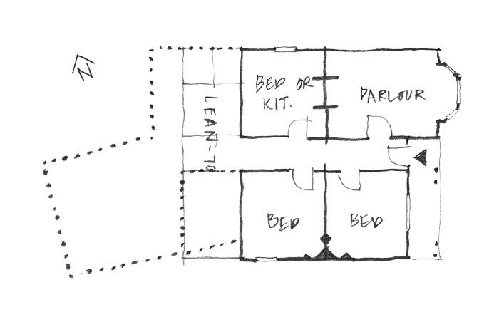 Mid-Victorian villa plan.