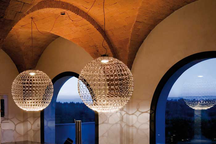 GRA Globes by B. Rainaldi for Terzani.