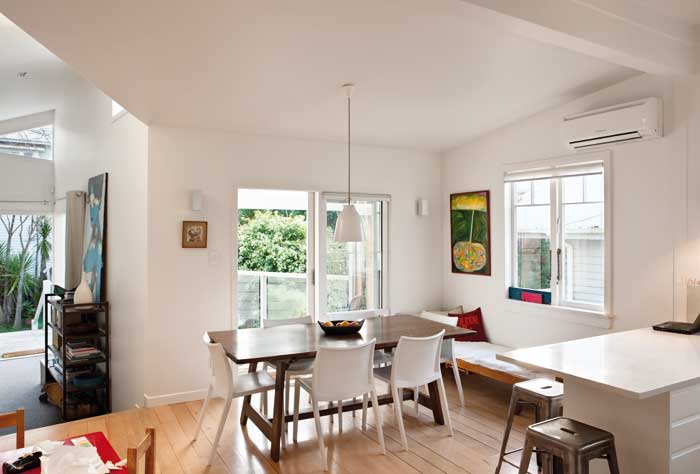 When adding to an older dwelling, find ways to capture light and warmth.