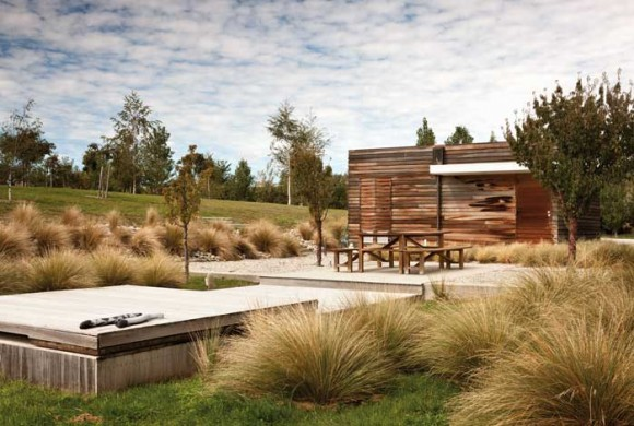 The design guide landscape and garden design the design for Landscape design ideas nz