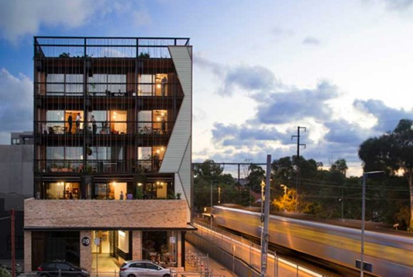 The Commons apartment building by Breathe Architecture
