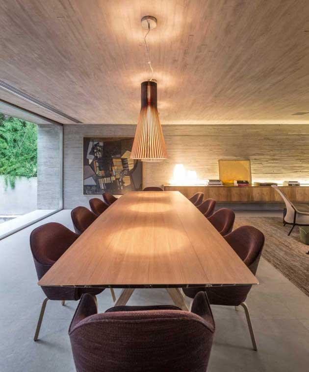 B+B House dining room