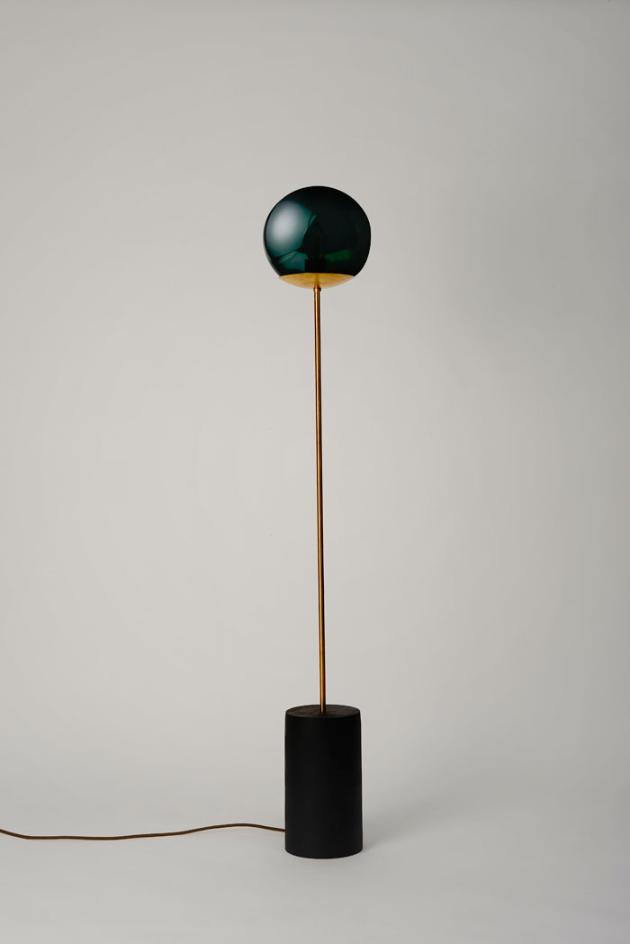 Black Line Floor lamp by Douglas and Bec