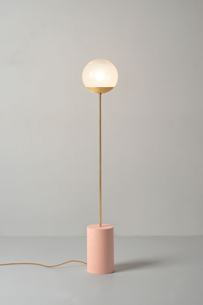 Blush Line Floor lamp by Douglas and Bec