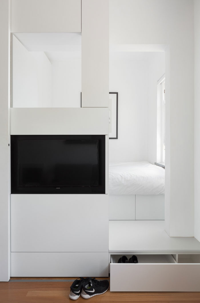 Small apartment ideas - bedroom
