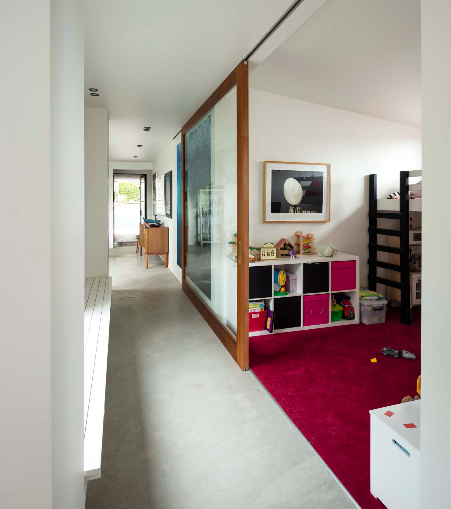 Dominic Glamuzina suburban house kids'play room