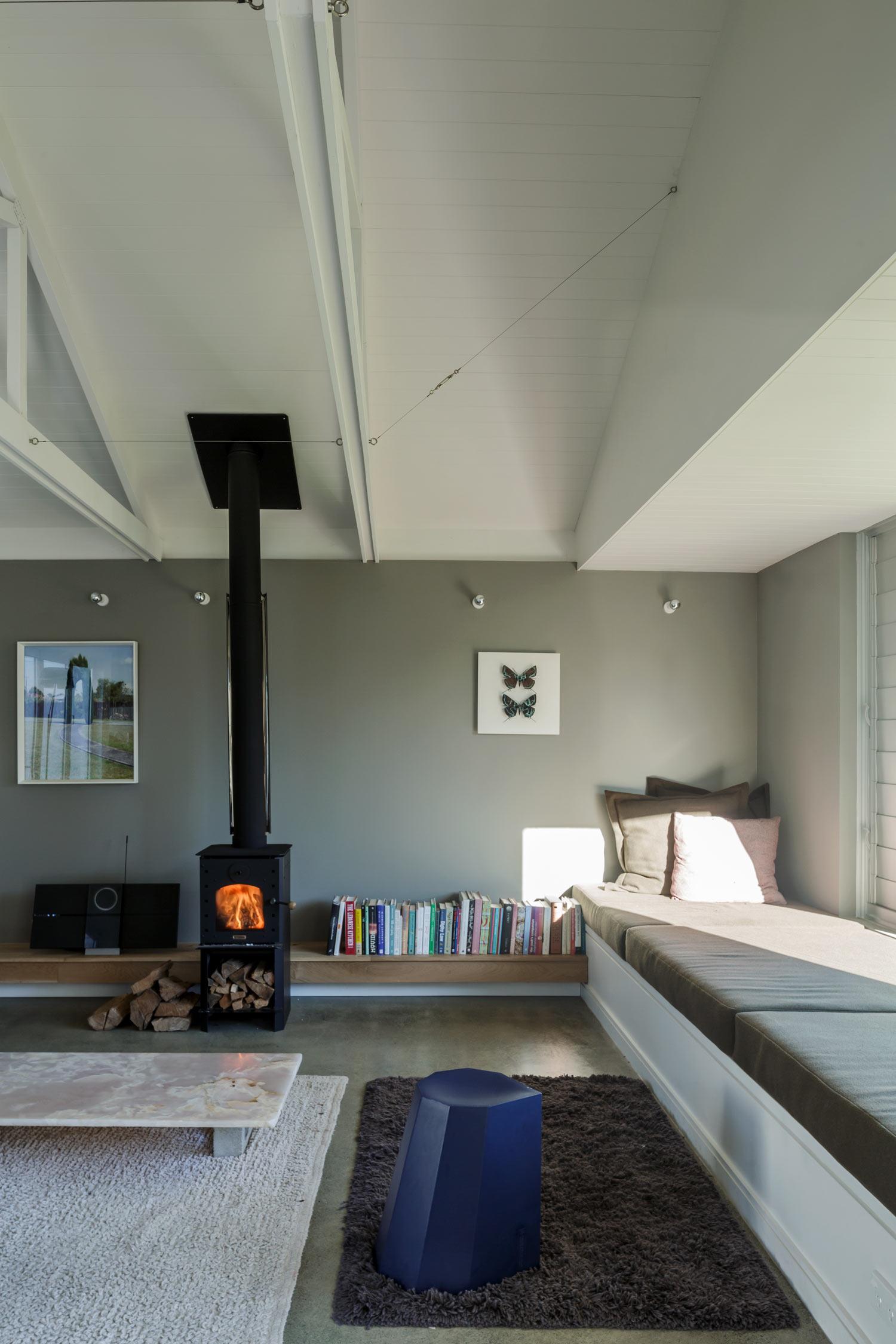 Henri Sayes architect house living room