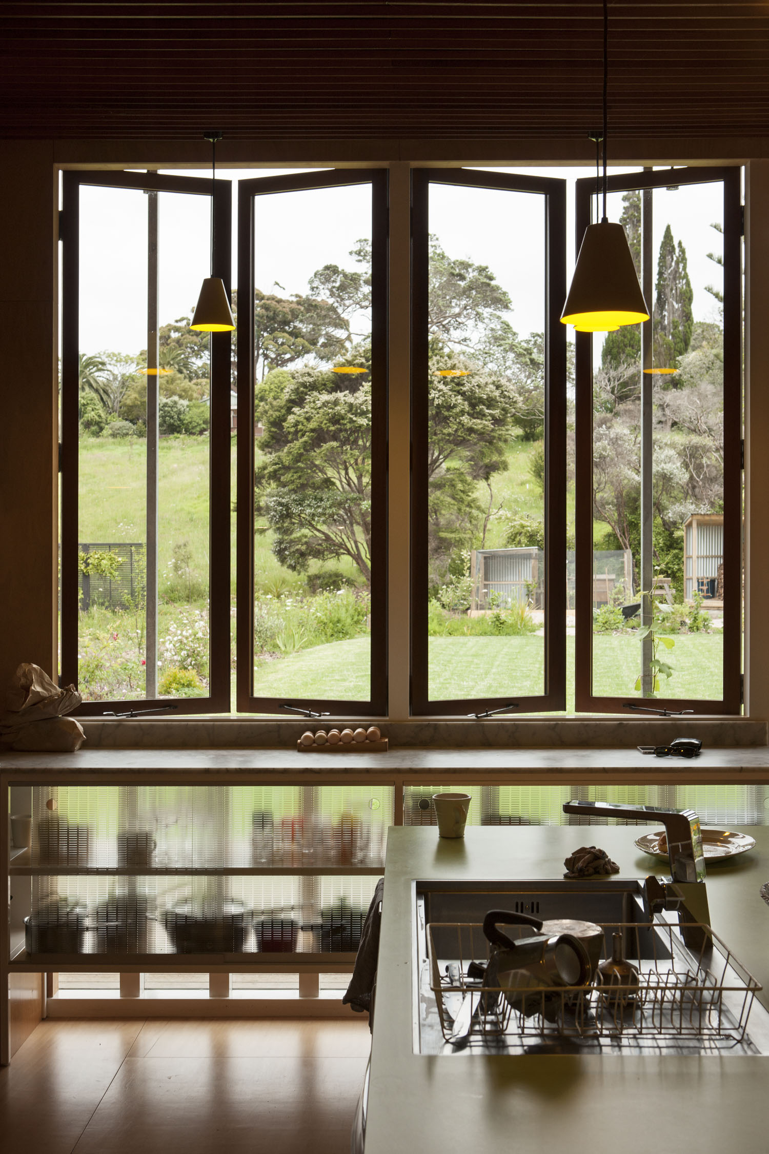 Michael O'Sullivan Waiheke house kitchen