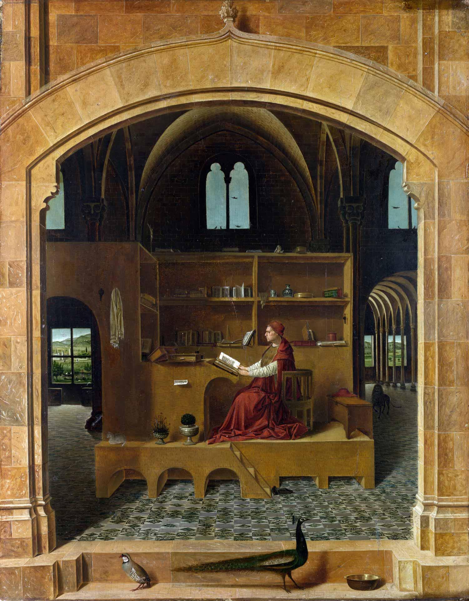 St Jerome in his Study by Antonello da Massina