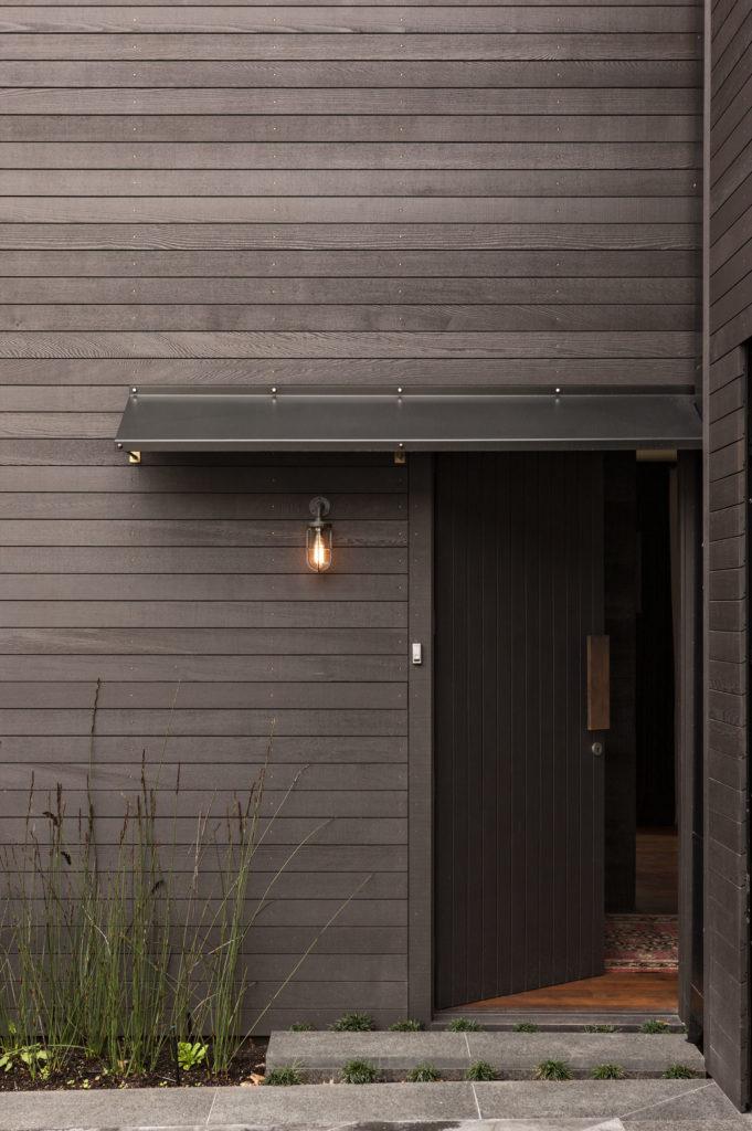 Richard Naish suburban house simple yet effective front entrance