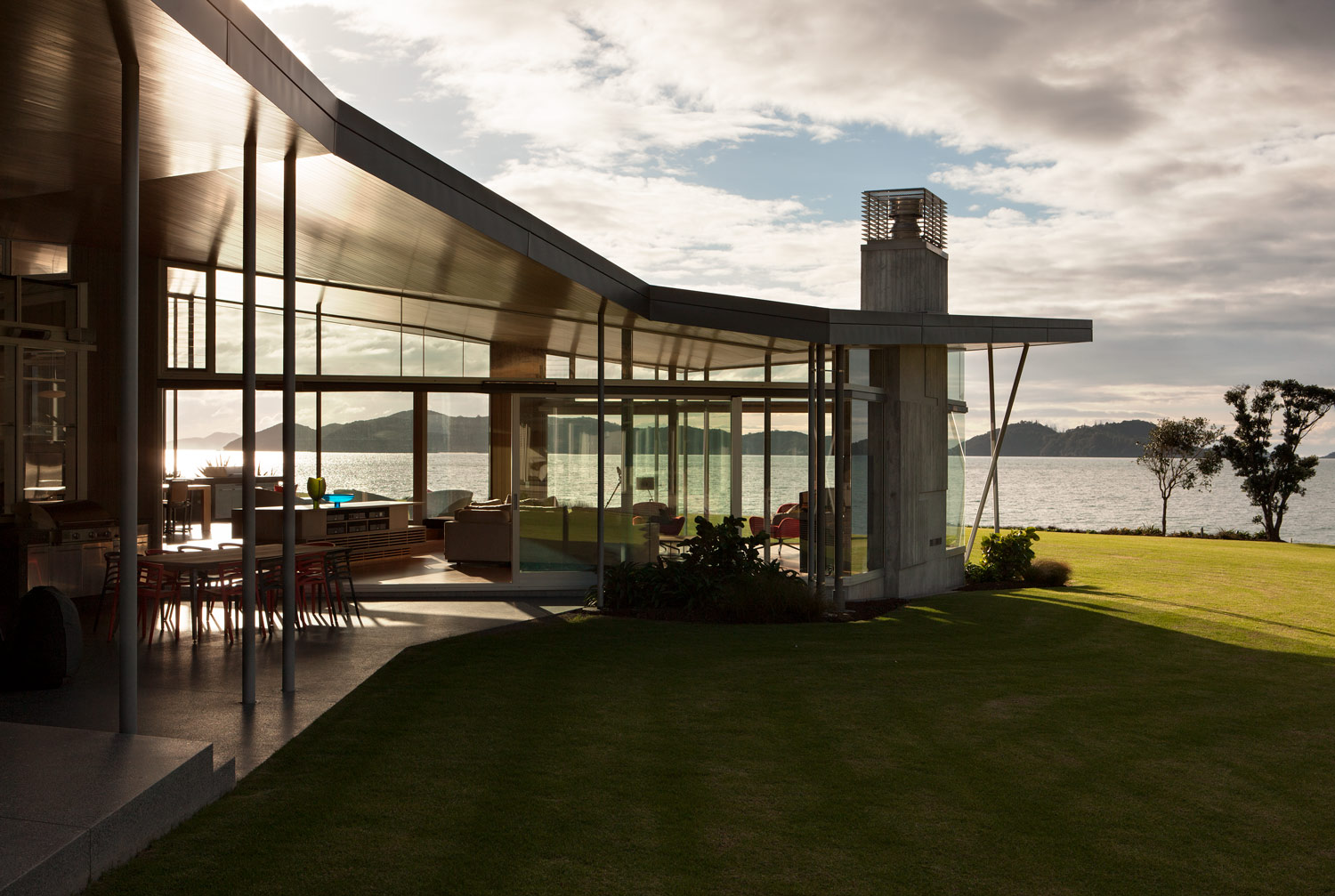 Bossley Architects Fold House, Bay of Islands