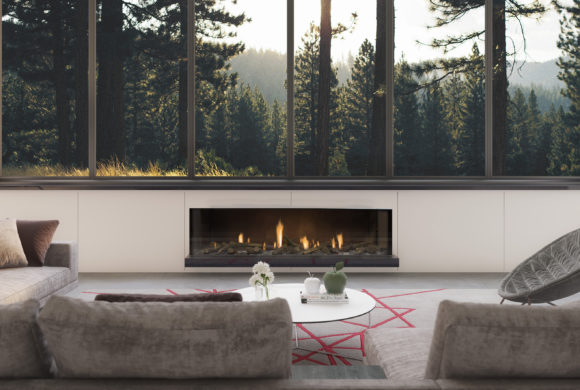 Frameless Gas Fire by Escea