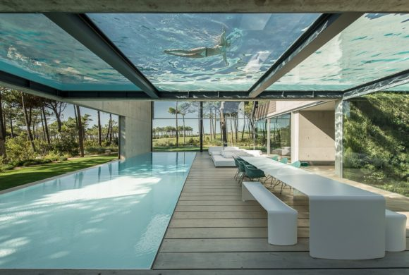 Surreal Aquatic Palace